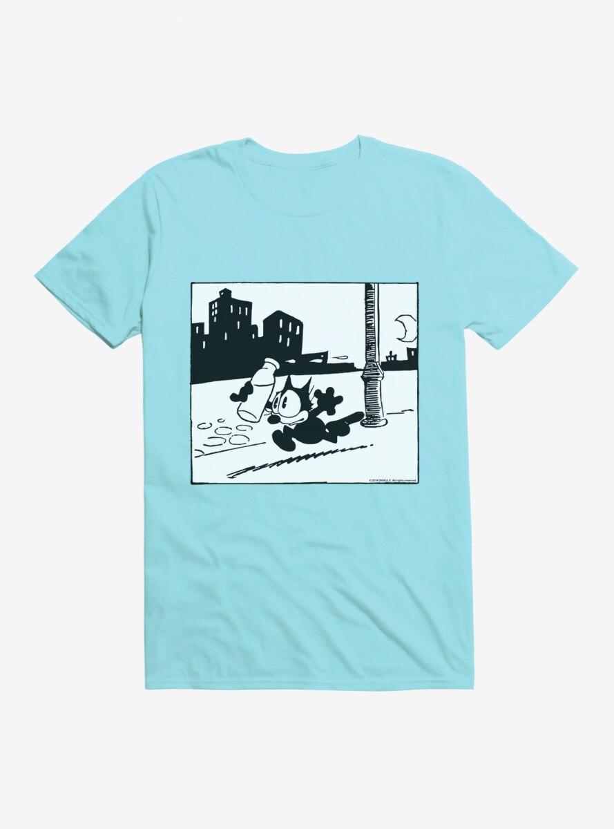 Felix The Cat Got The Milk T-Shirt