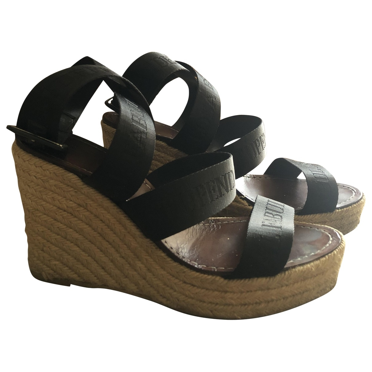 Castaner \N Black Cloth Sandals for Women 41 EU