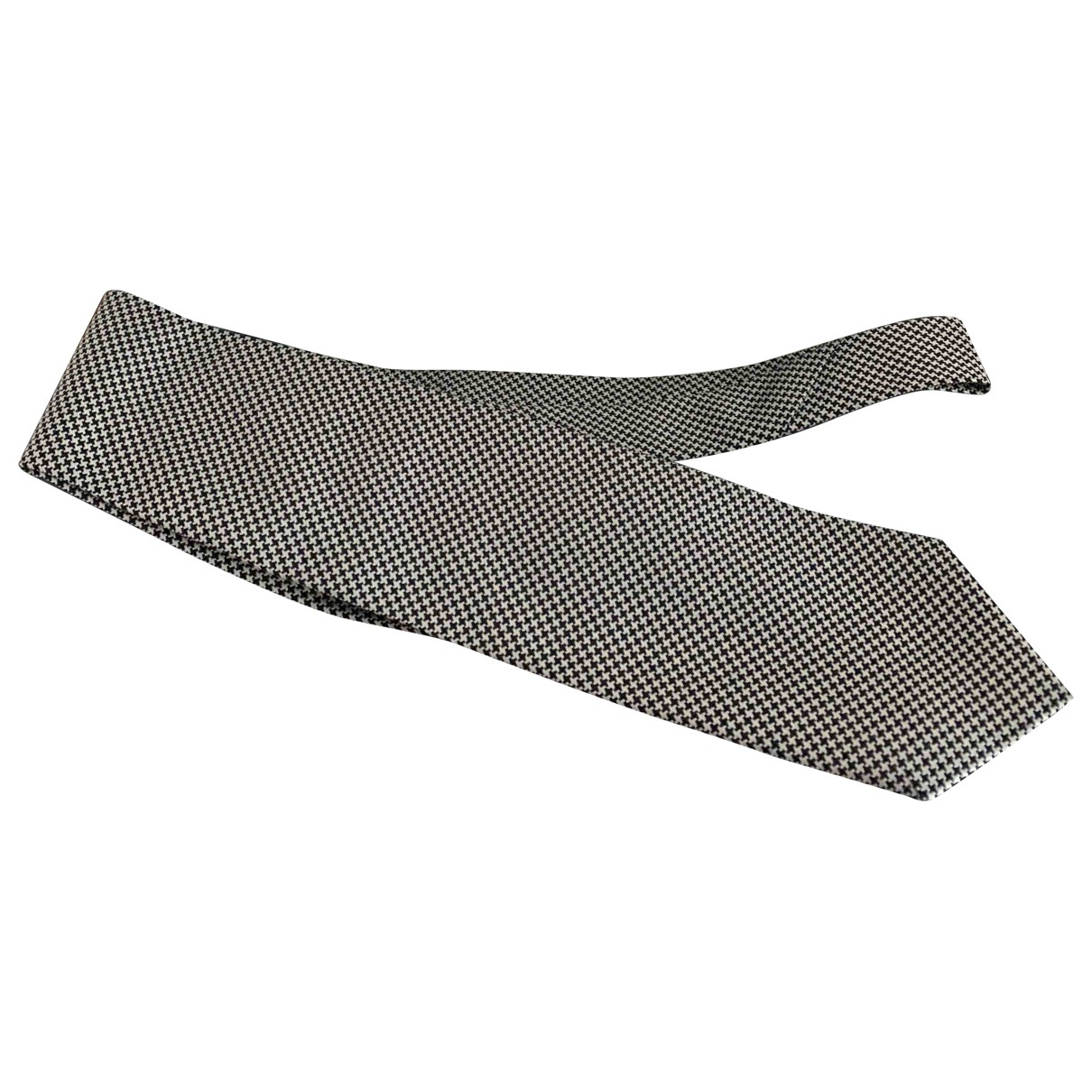 Ermenegildo Zegna \N Black Silk Ties for Men \N