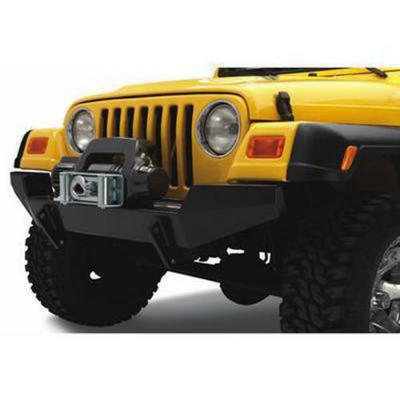 Bestop HighRock 4x4 Front Winch Bumper (Black) - 44901-01
