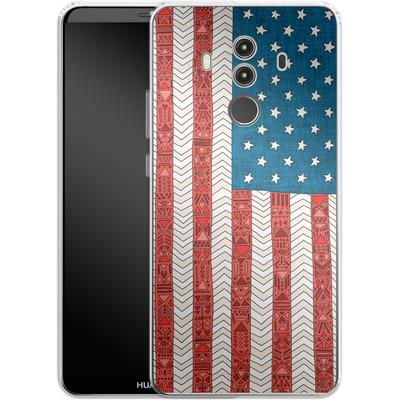 Huawei Mate 10 Pro Silikon Handyhuelle - USA von Bianca Green