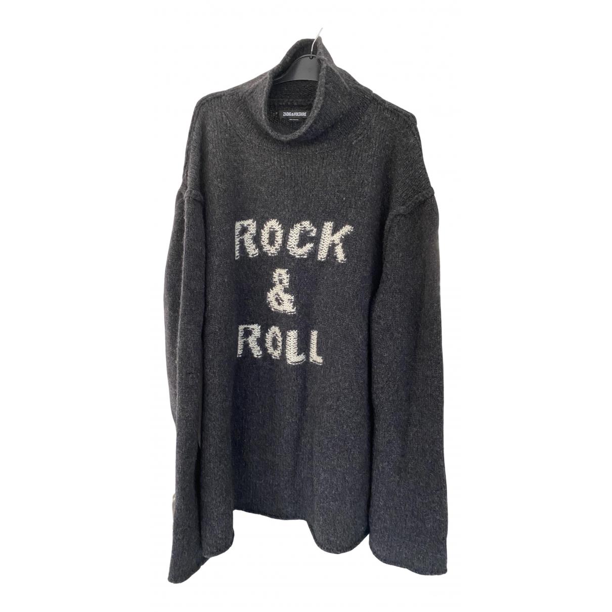 Zadig & Voltaire - Pull Spring Summer 2019 pour femme en laine - noir