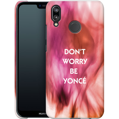 Huawei P20 Lite Smartphone Huelle - Dont Worry Be Yonce von Statements