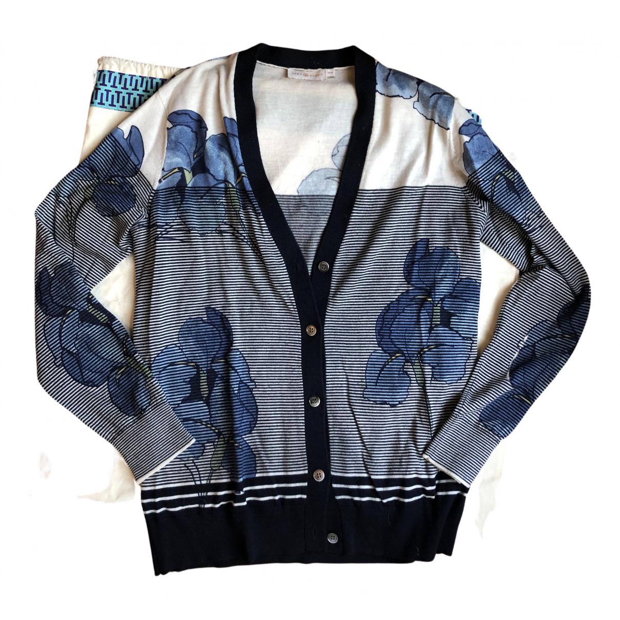 Tory Burch N Blue Wool Knitwear for Women M International