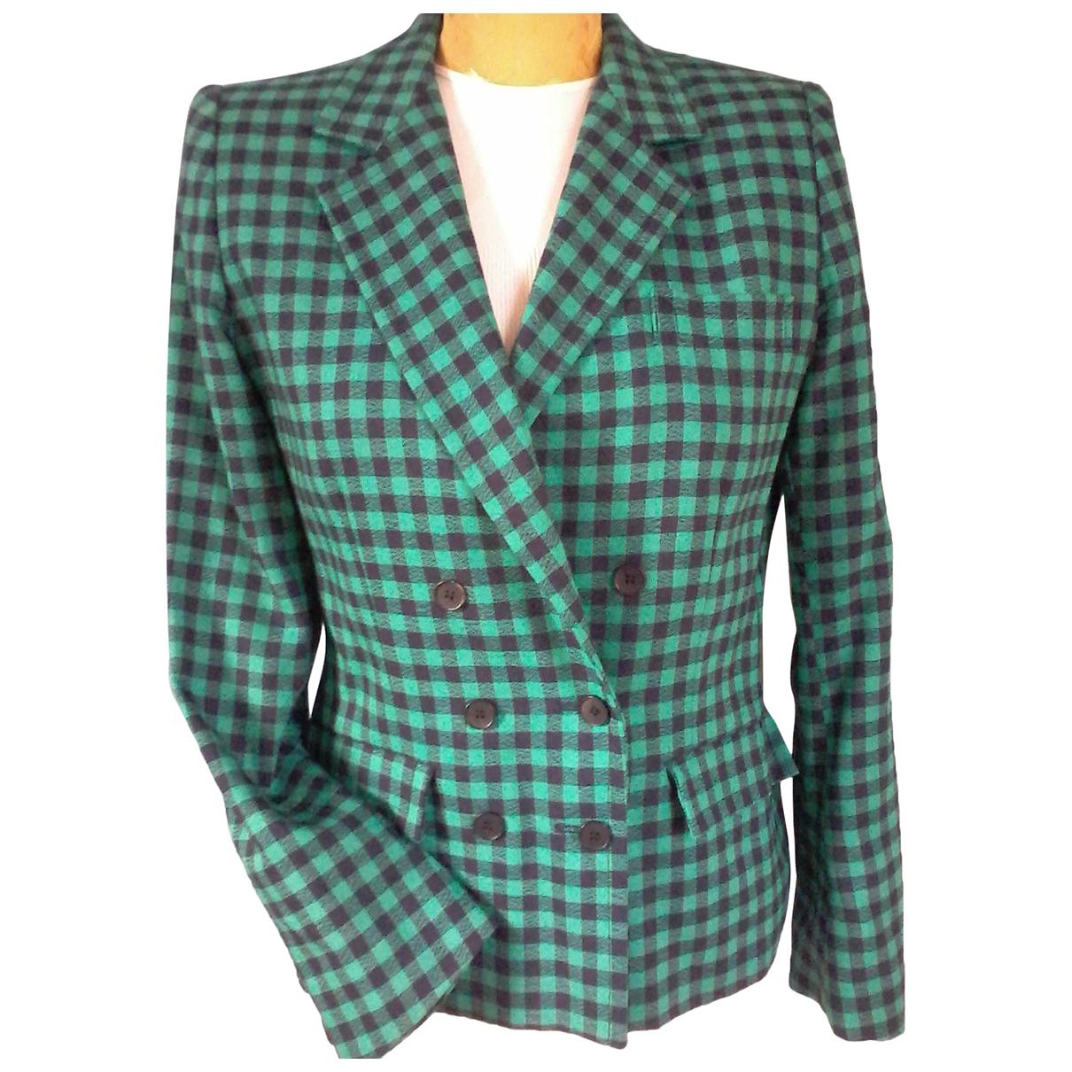 Guy Laroche - Veste   pour femme en laine - vert