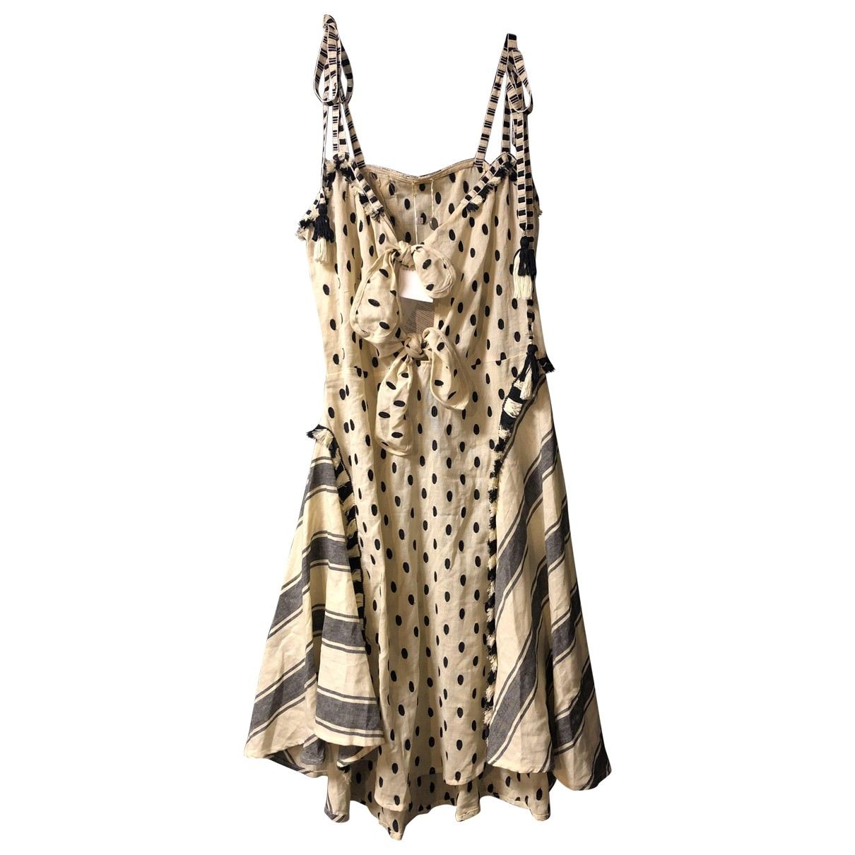 Dodo Bar Or \N Beige Cotton dress for Women S International