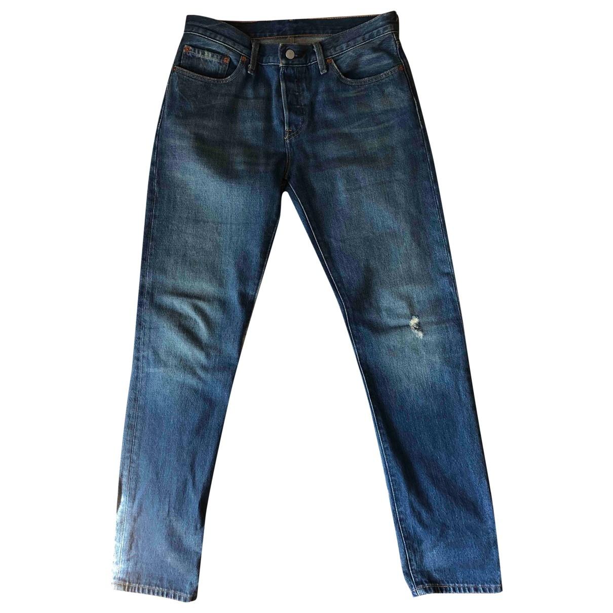 Levi's \N Blue Denim - Jeans Trousers for Women 42 IT