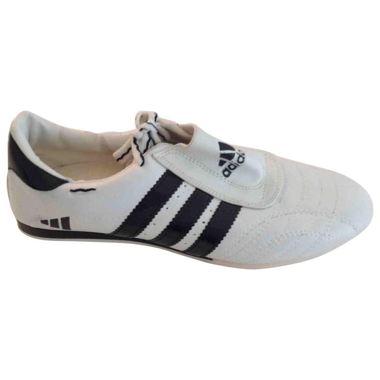 Adidas \N Sneakers in  Weiss Leder