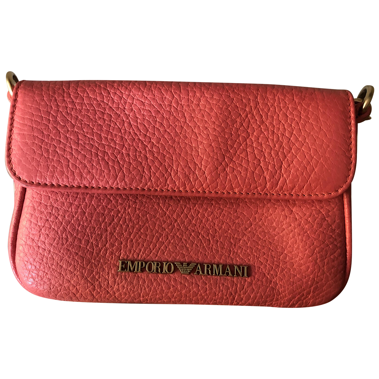 Emporio Armani N Pink Leather wallet for Women N
