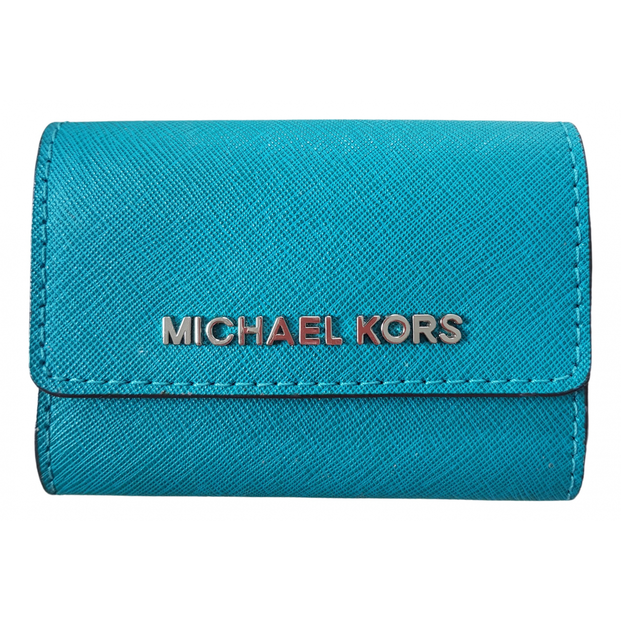 Michael Kors N Turquoise Leather Purses, wallet & cases for Women N