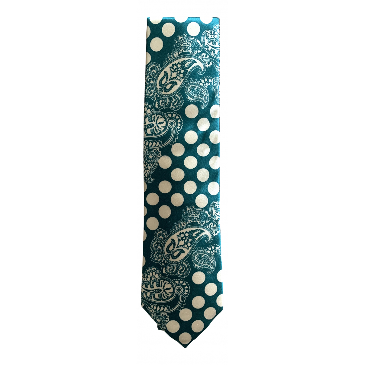 Paul Smith N Green Silk Ties for Men N