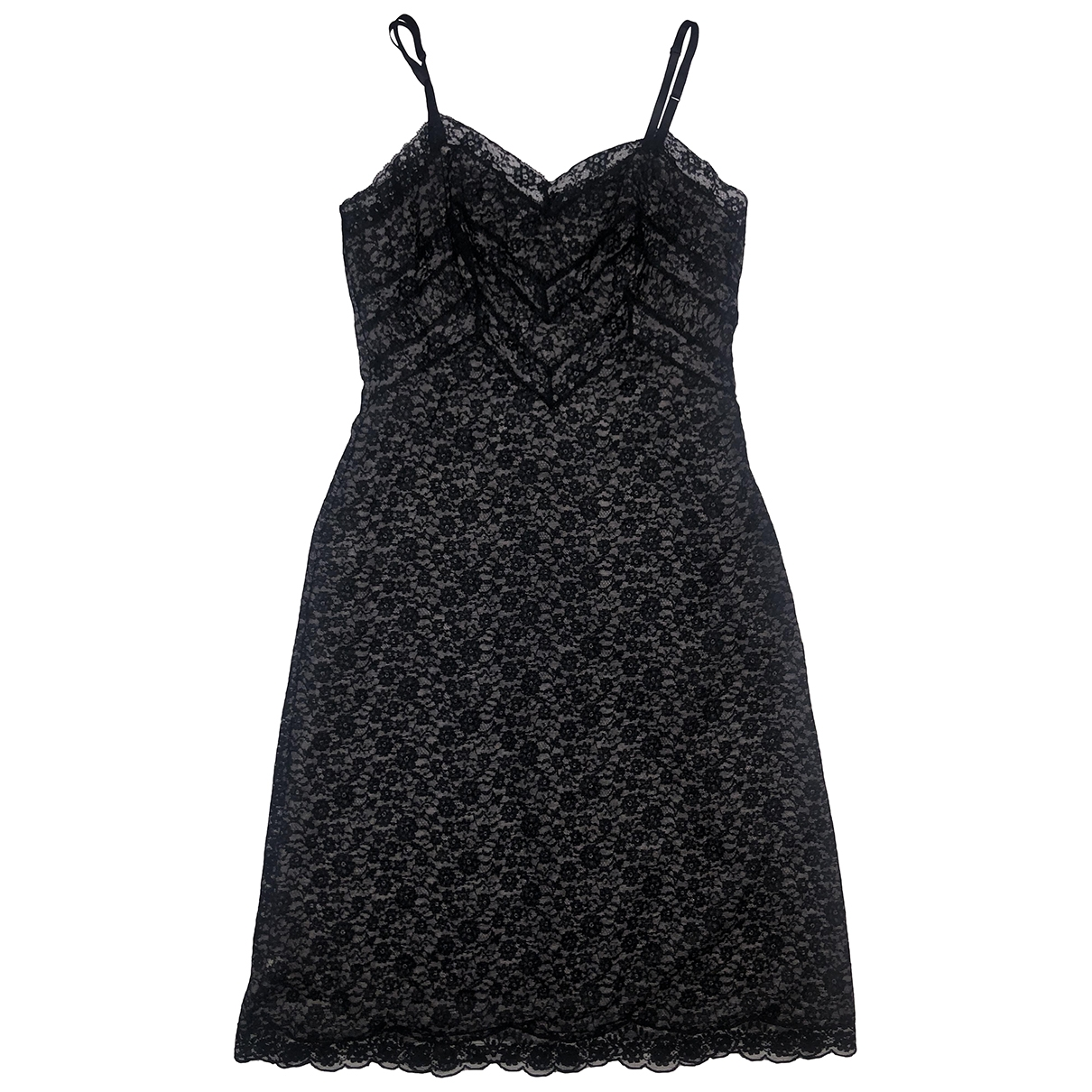 Non Signé / Unsigned \N Black Lace dress for Women M International