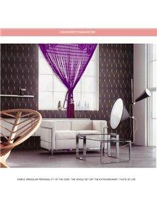 Multicolor Lace Tassel String Sheer Curtain Room Divider