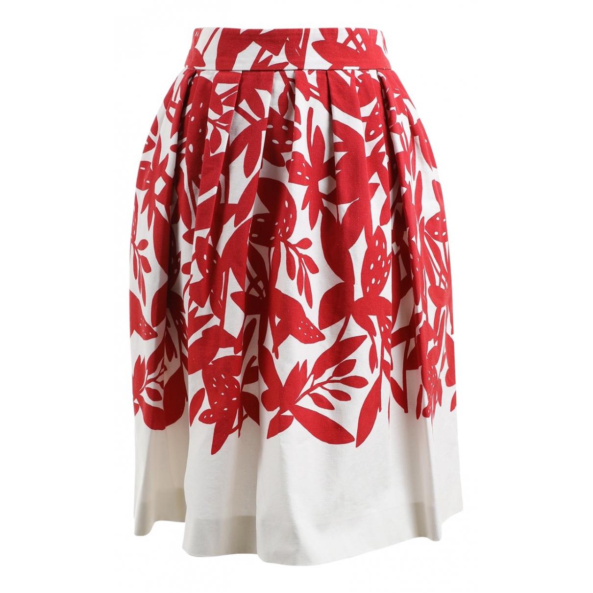 Paule Ka \N Multicolour Cotton skirt for Women 36 FR