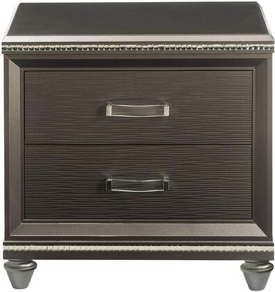 Sadie Collection 27943 Nightstand in Dark Champagne