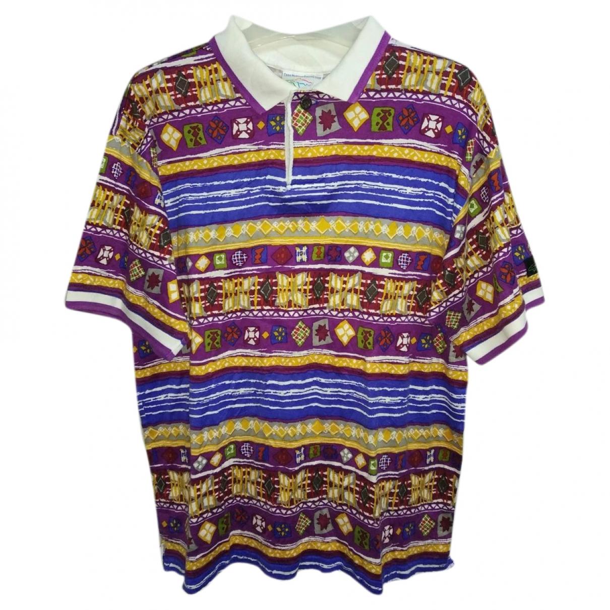Reebok - Polos   pour homme en coton - multicolore