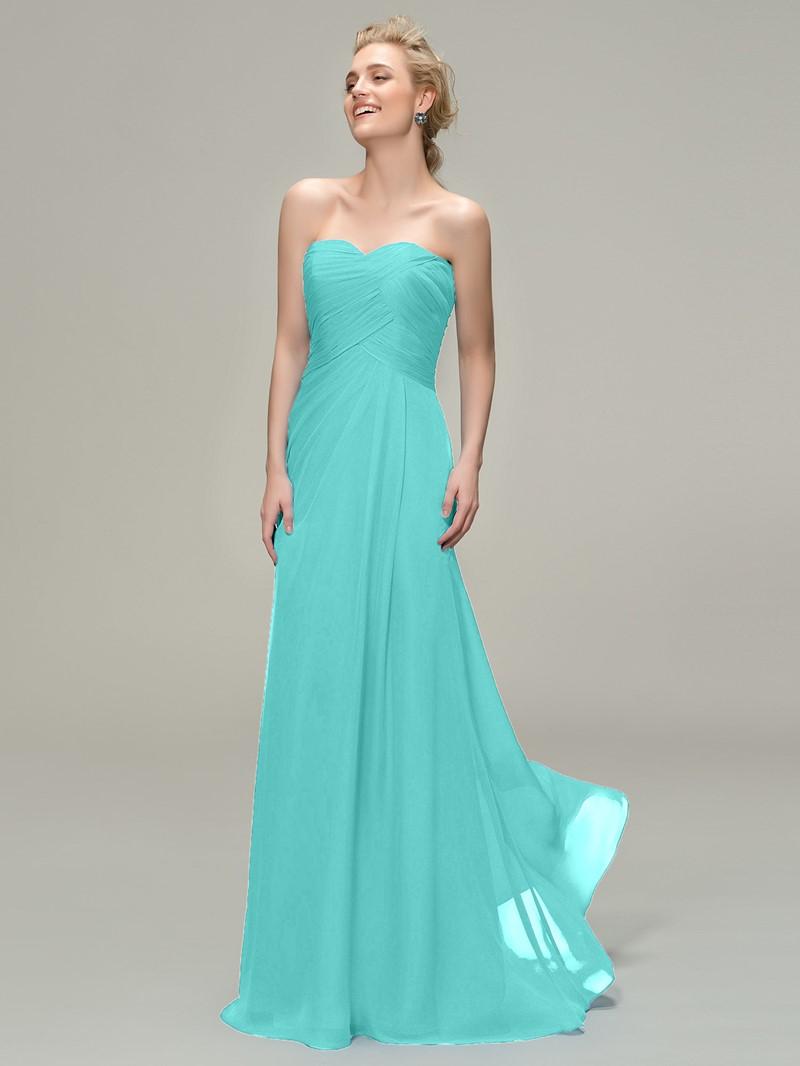 Ericdress A-line Sweetheart Long Bridesmaid Dress