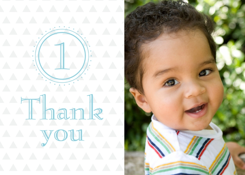 Kids Thank You Cards 5x7 Folded Cards, Premium Cardstock 120lb, Card & Stationery -Adding Up Birthday Thank You