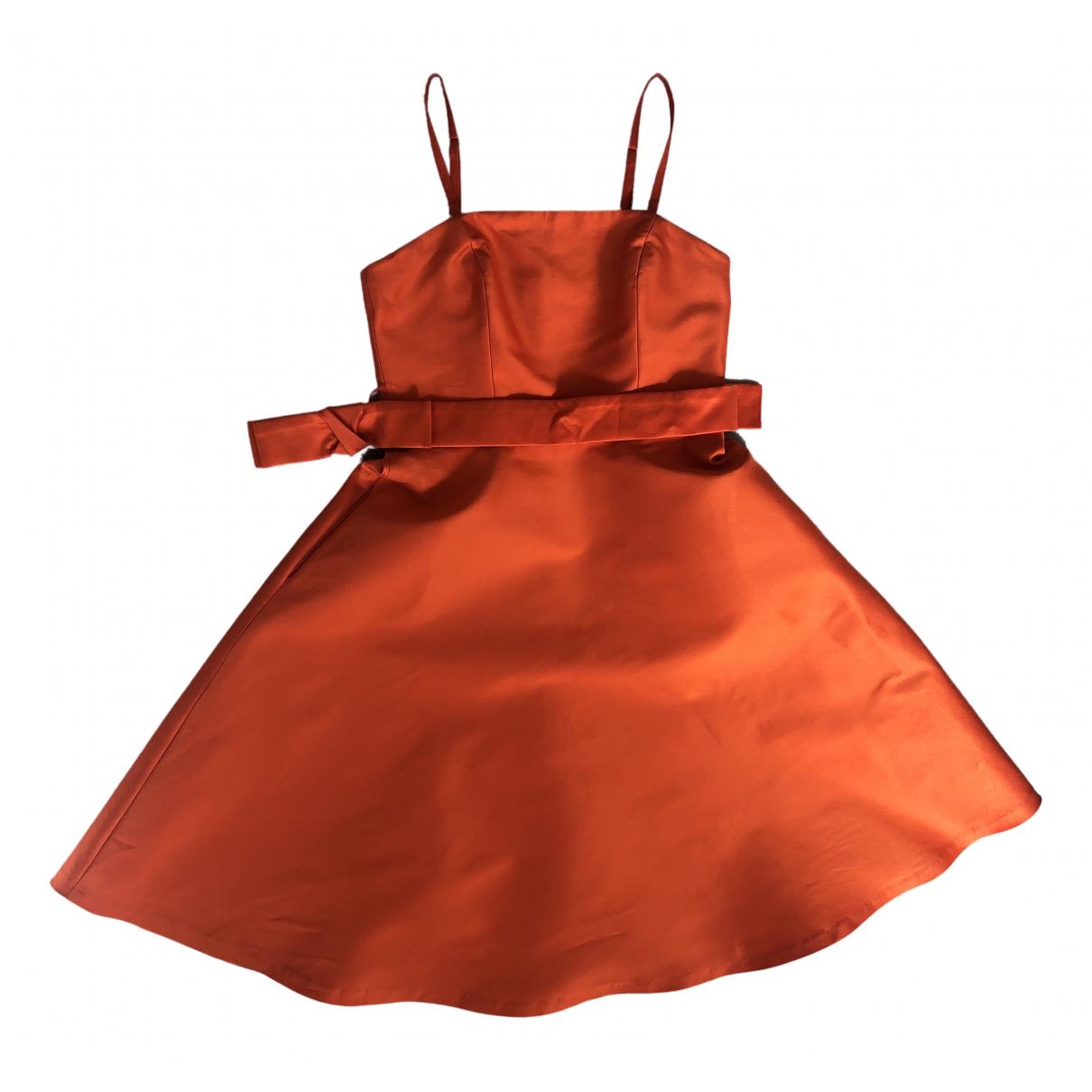Parosh \N Kleid in  Orange Polyester