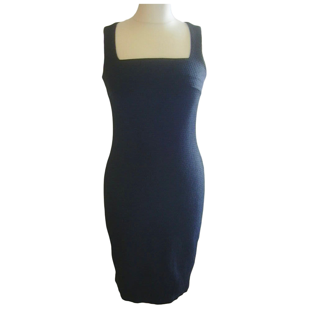 Versus \N Black Silk dress for Women 40 IT
