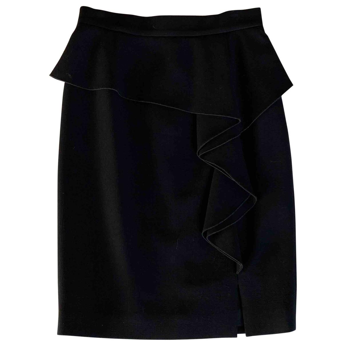 Emilio Pucci \N Black Wool skirt for Women 36 FR