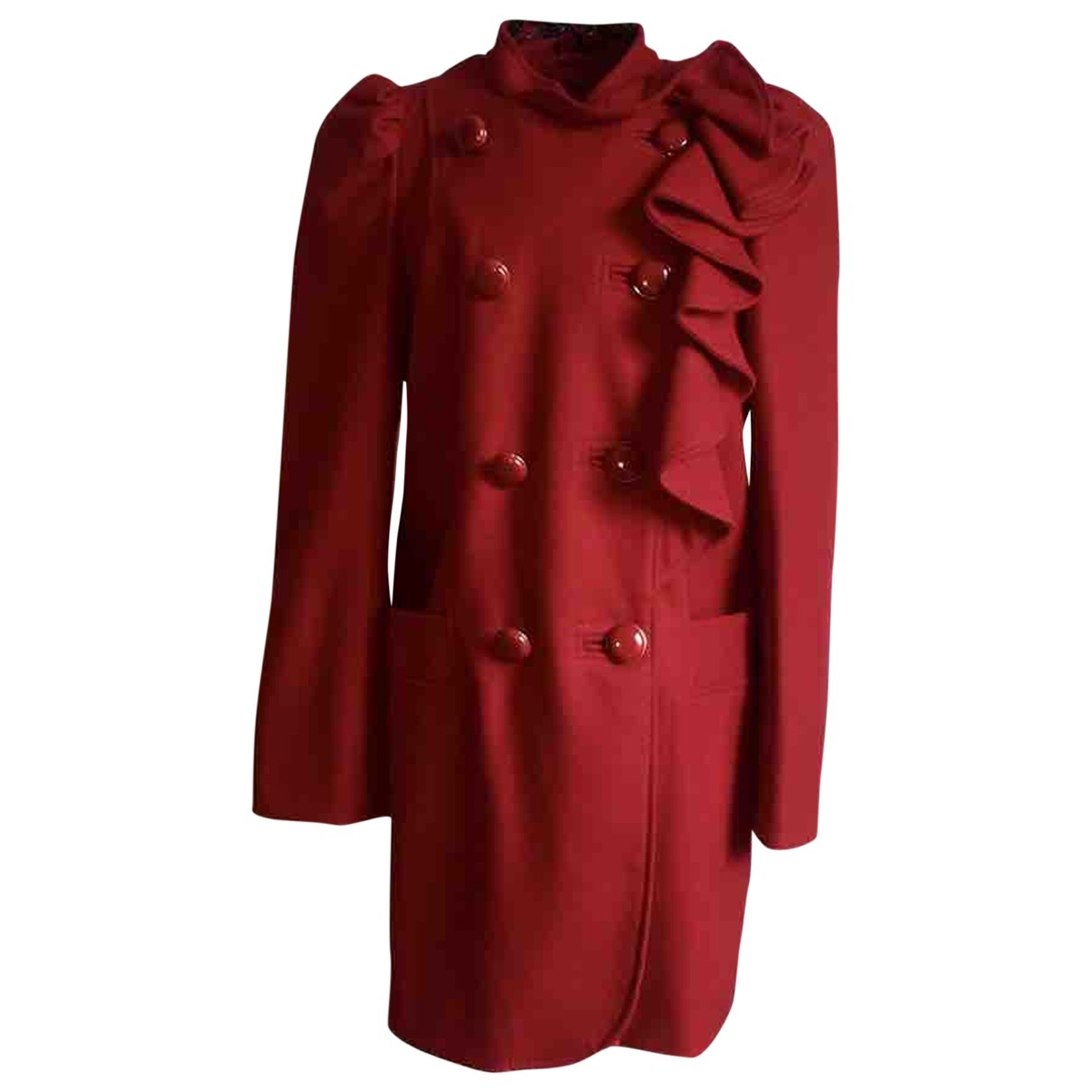 French Connection \N Red Wool coat for Women 40 FR