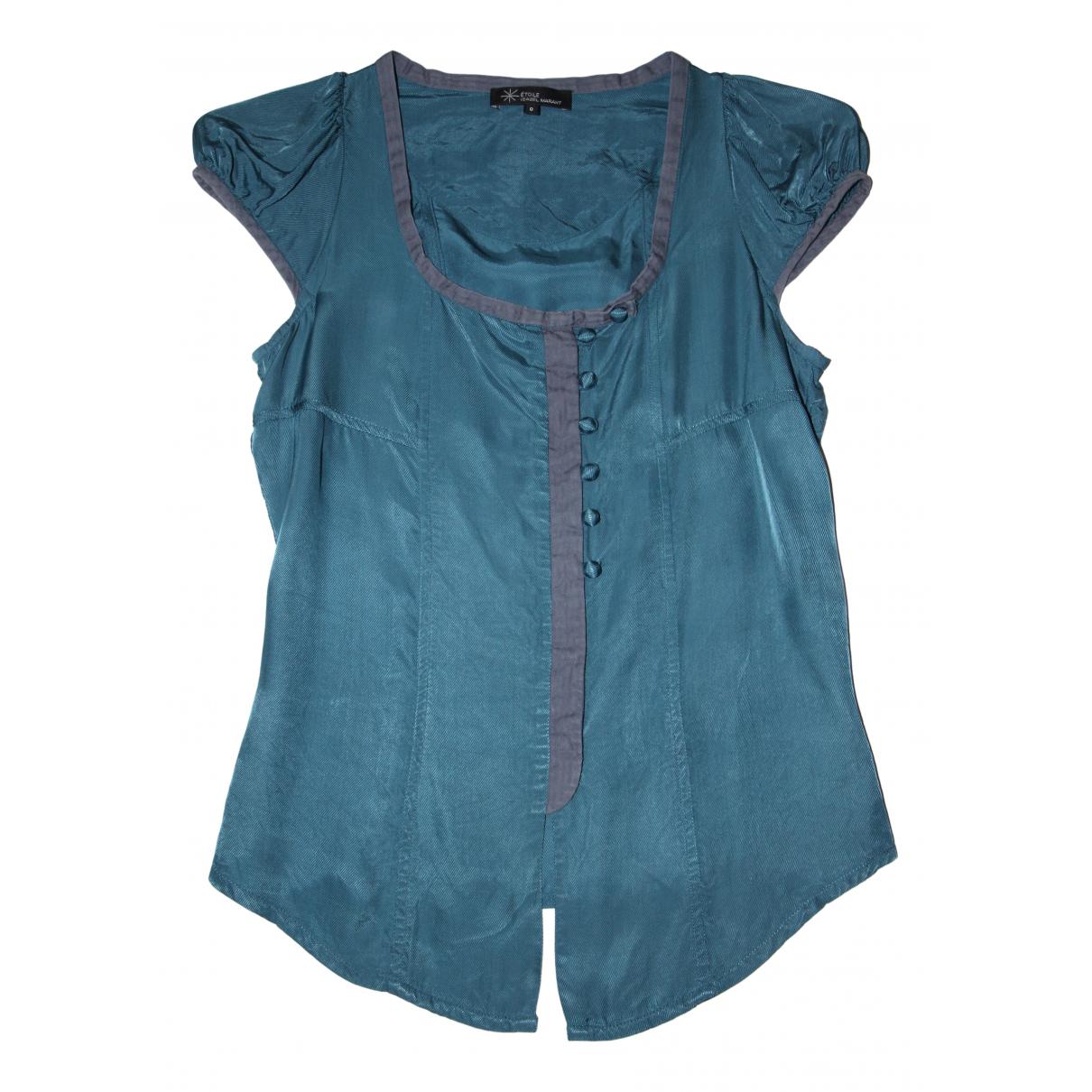 Isabel Marant Etoile - Top   pour femme en coton - bleu