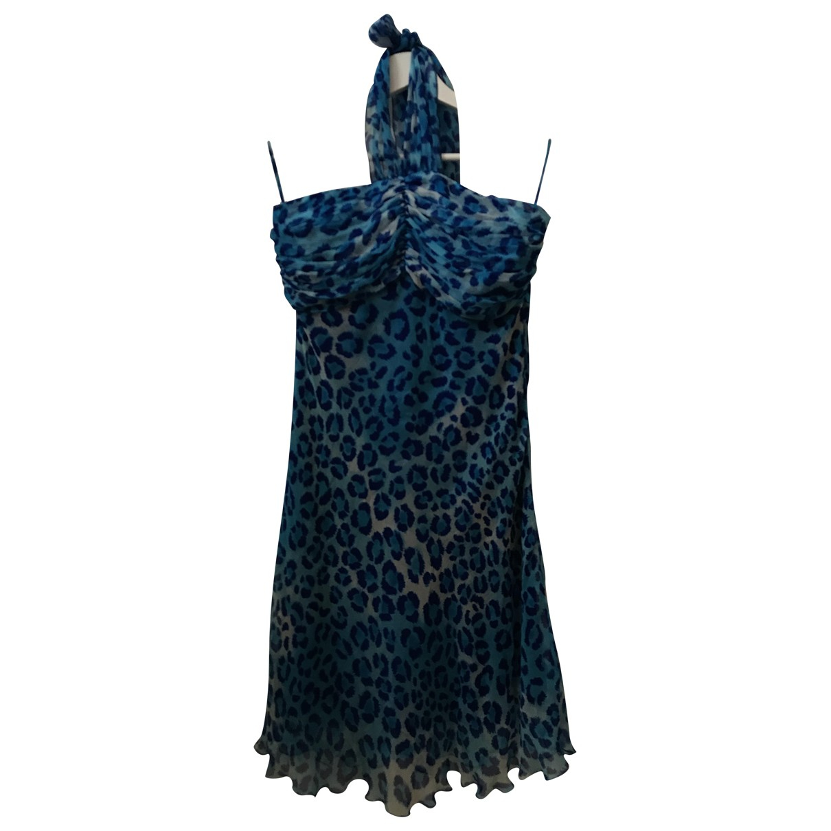 Blumarine \N Kleid in  Bunt Seide