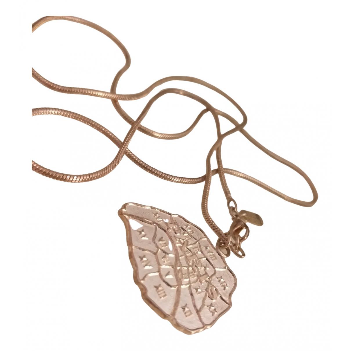 Viveka Bergstrom \N Halskette in  Silber Versilbert