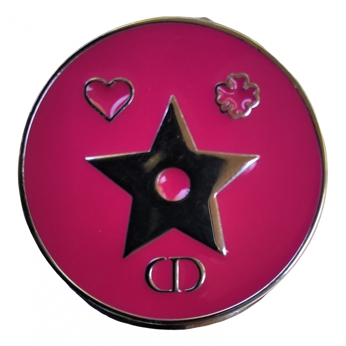 Dior \N Pink Metal Pins & brooches for Women \N