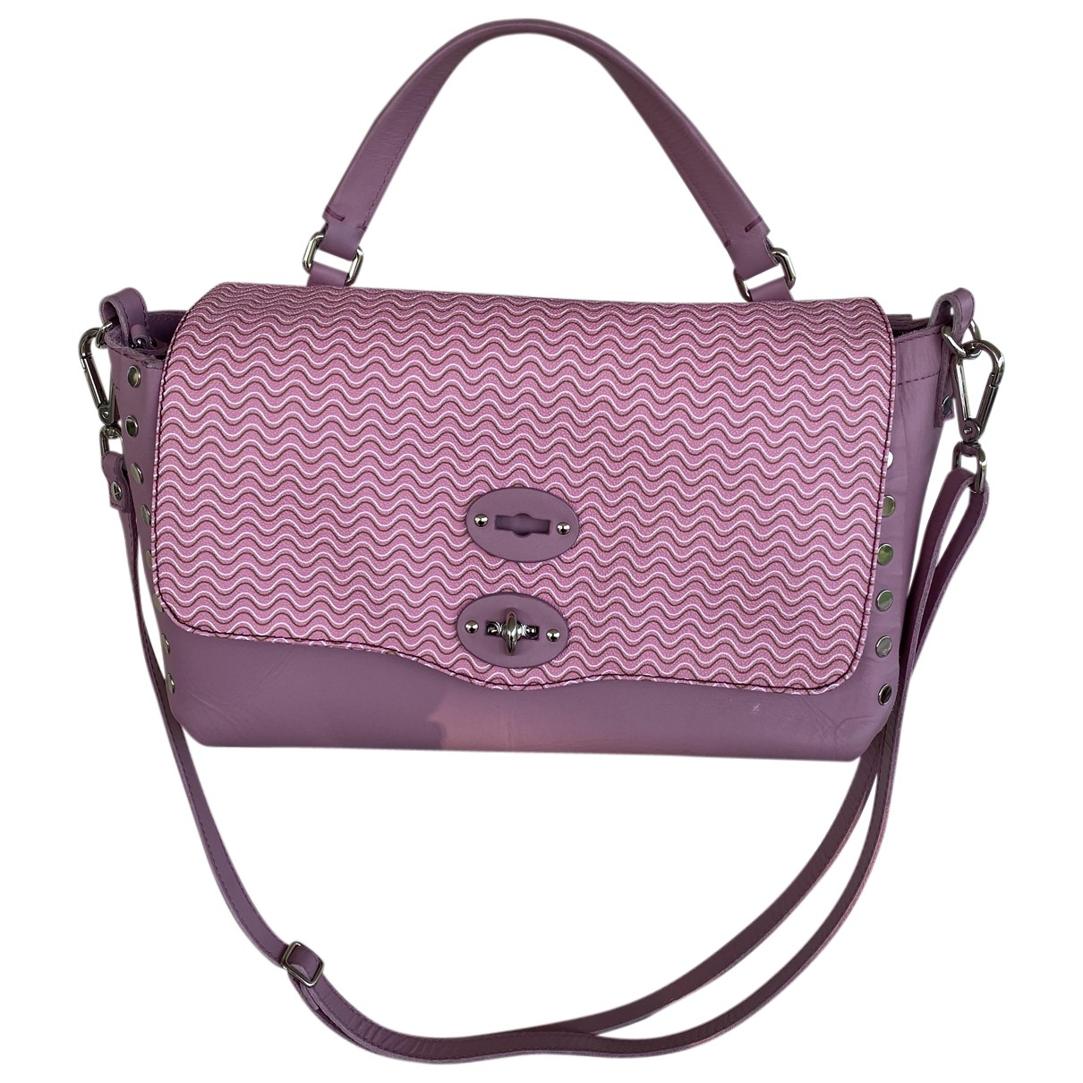 Zanellato N Pink Leather handbag for Women N