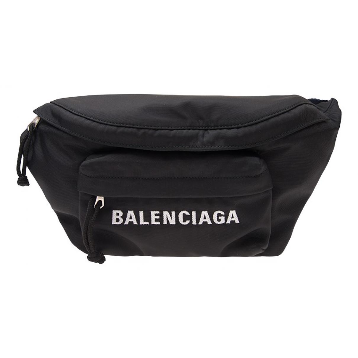 Balenciaga N Black Cloth bag for Men N