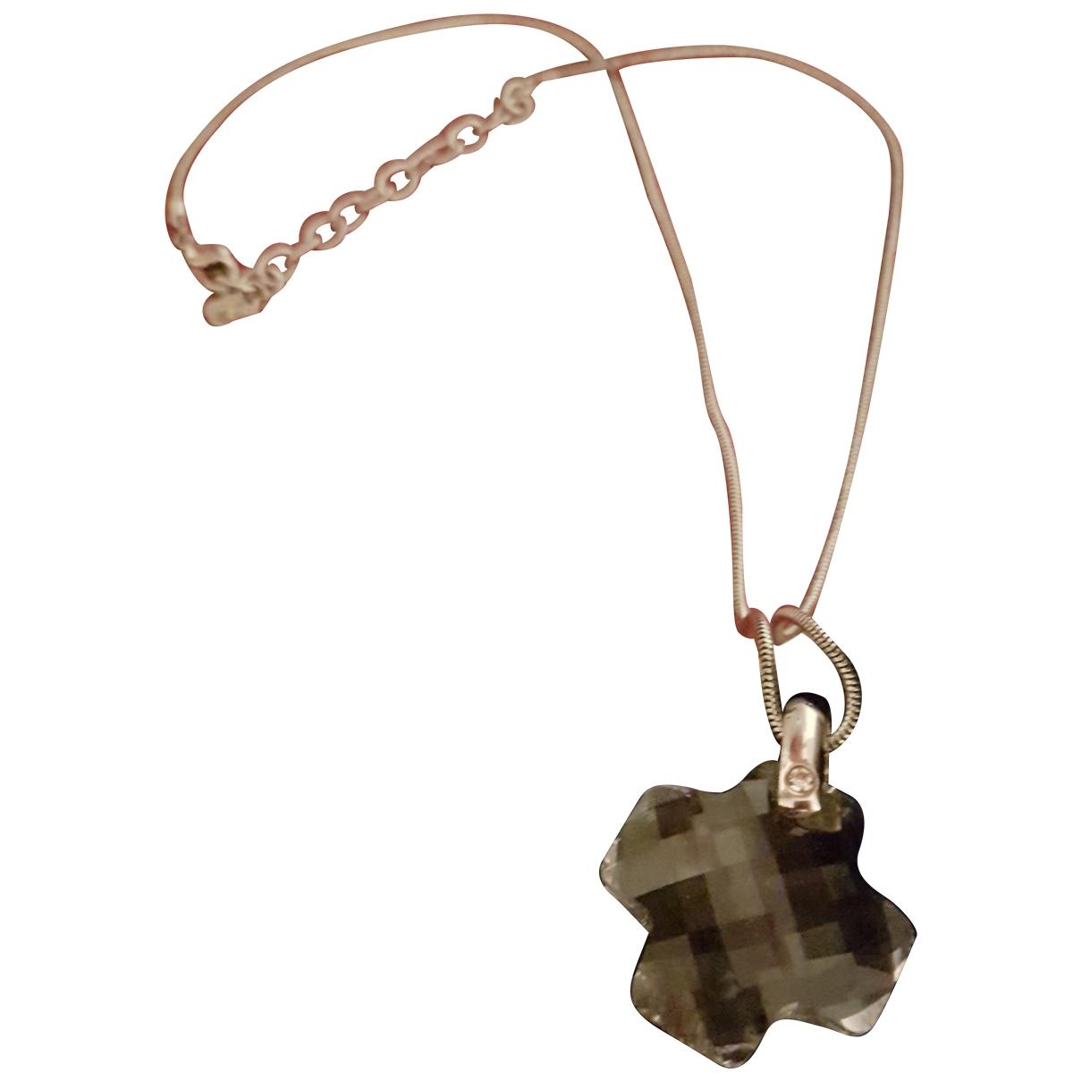 Swarovski \N Silver Metal Long necklace for Women \N