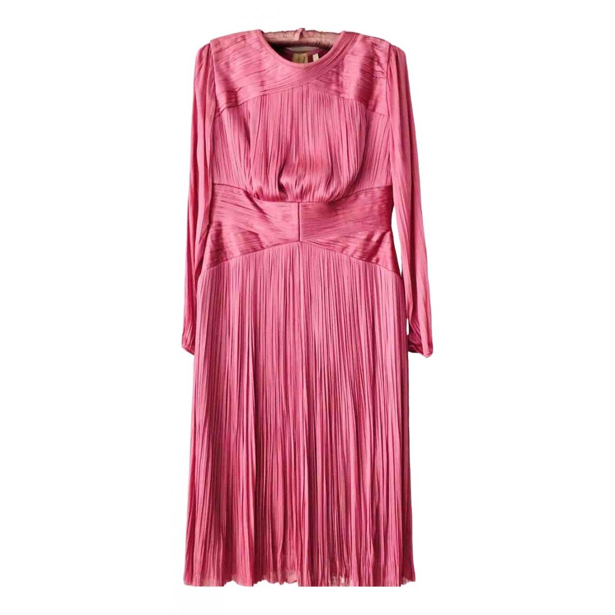 Maria Lucia Hohan \N Kleid in  Rosa Seide