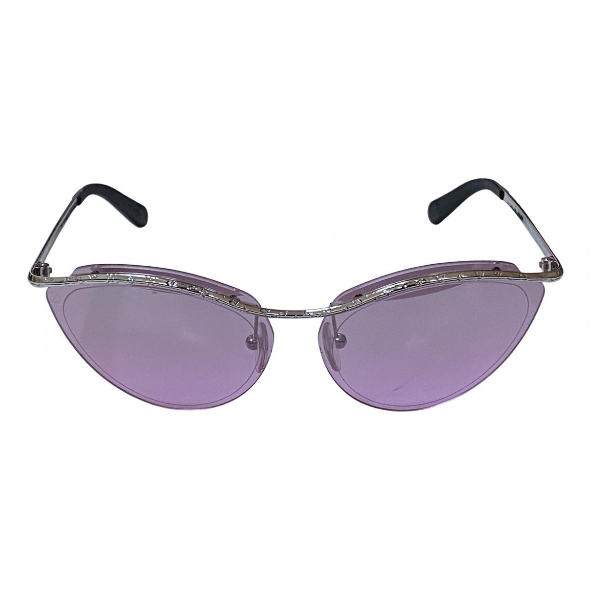 Louis Vuitton N Pink Metal Sunglasses for Women N