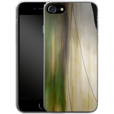 Apple iPhone 8 Silikon Handyhuelle - Breathe von Joy StClaire