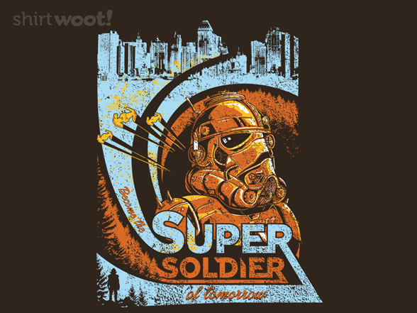 Super Soldier T Shirt