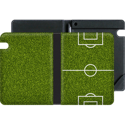 Amazon Kindle Voyage eBook Reader Huelle - Soccer Field von caseable Designs