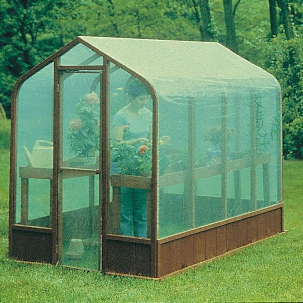 Woodworking Project Paper Plan to Build Greenhouse, Plan No. 557