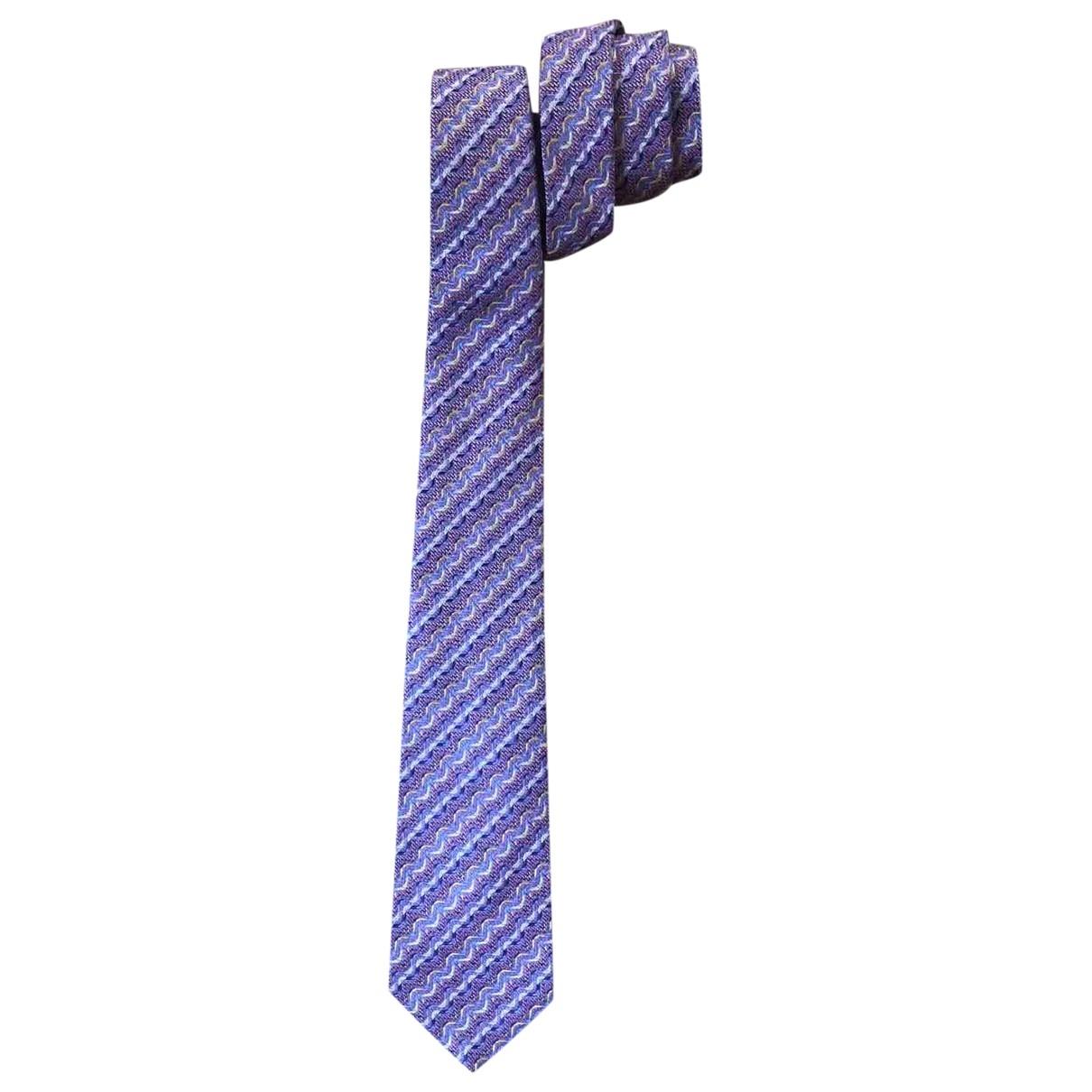 Missoni - Cravates   pour homme en soie - rose