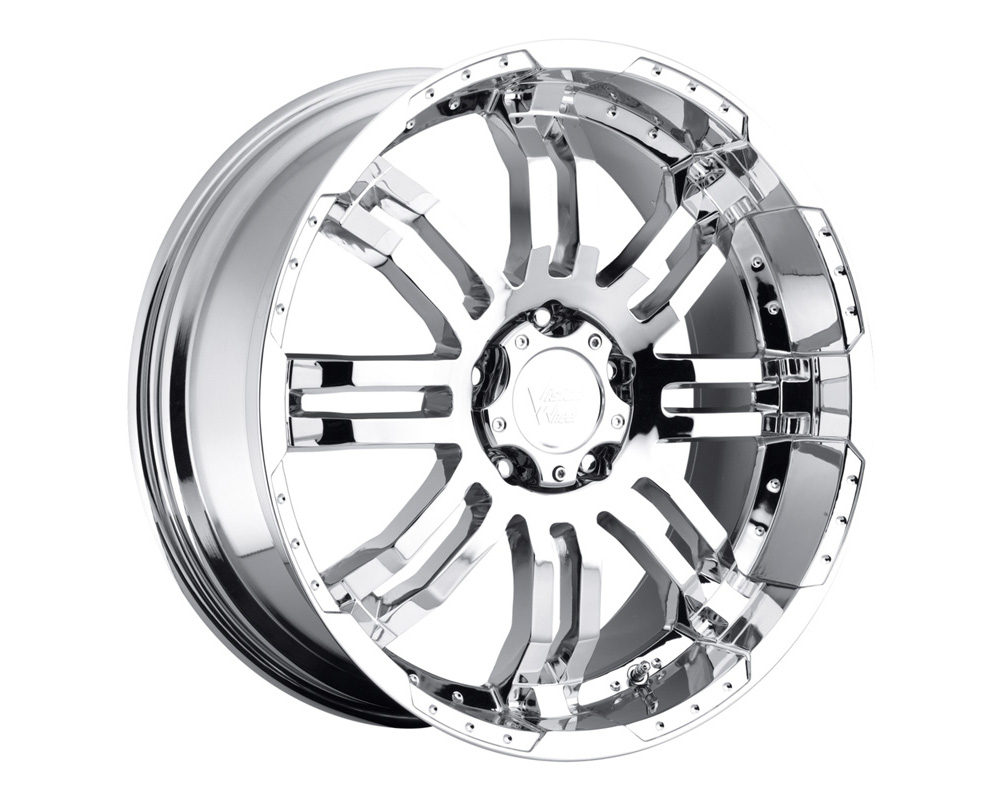 Vision Warrior Chrome Wheel 17x8.5 6x114.3 18