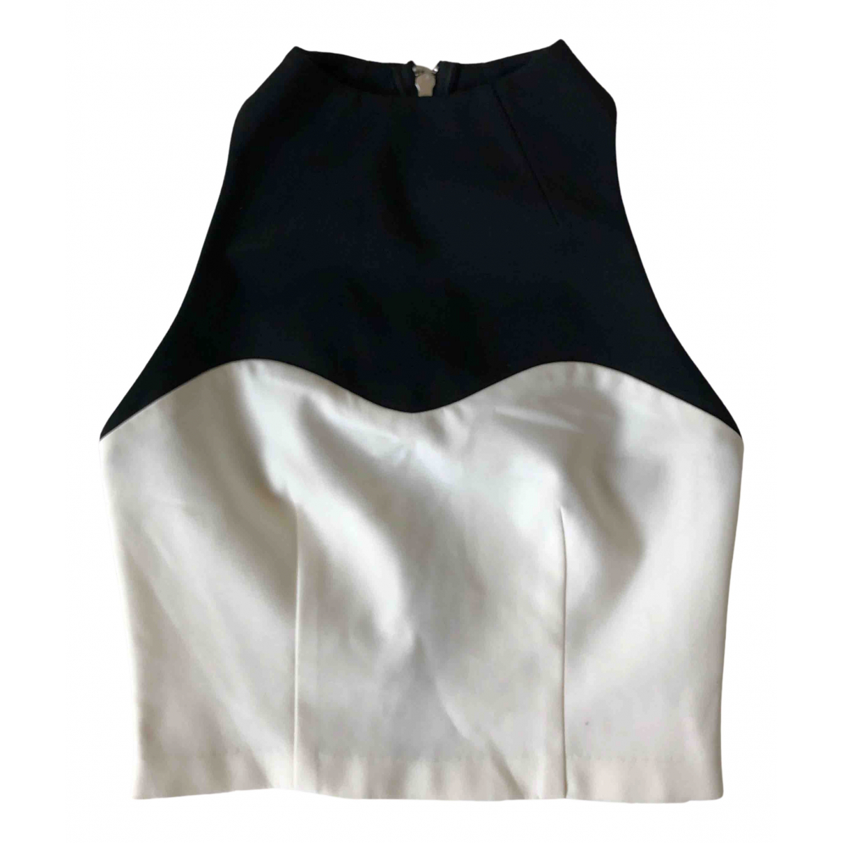 Nicholas - Top   pour femme en coton - noir