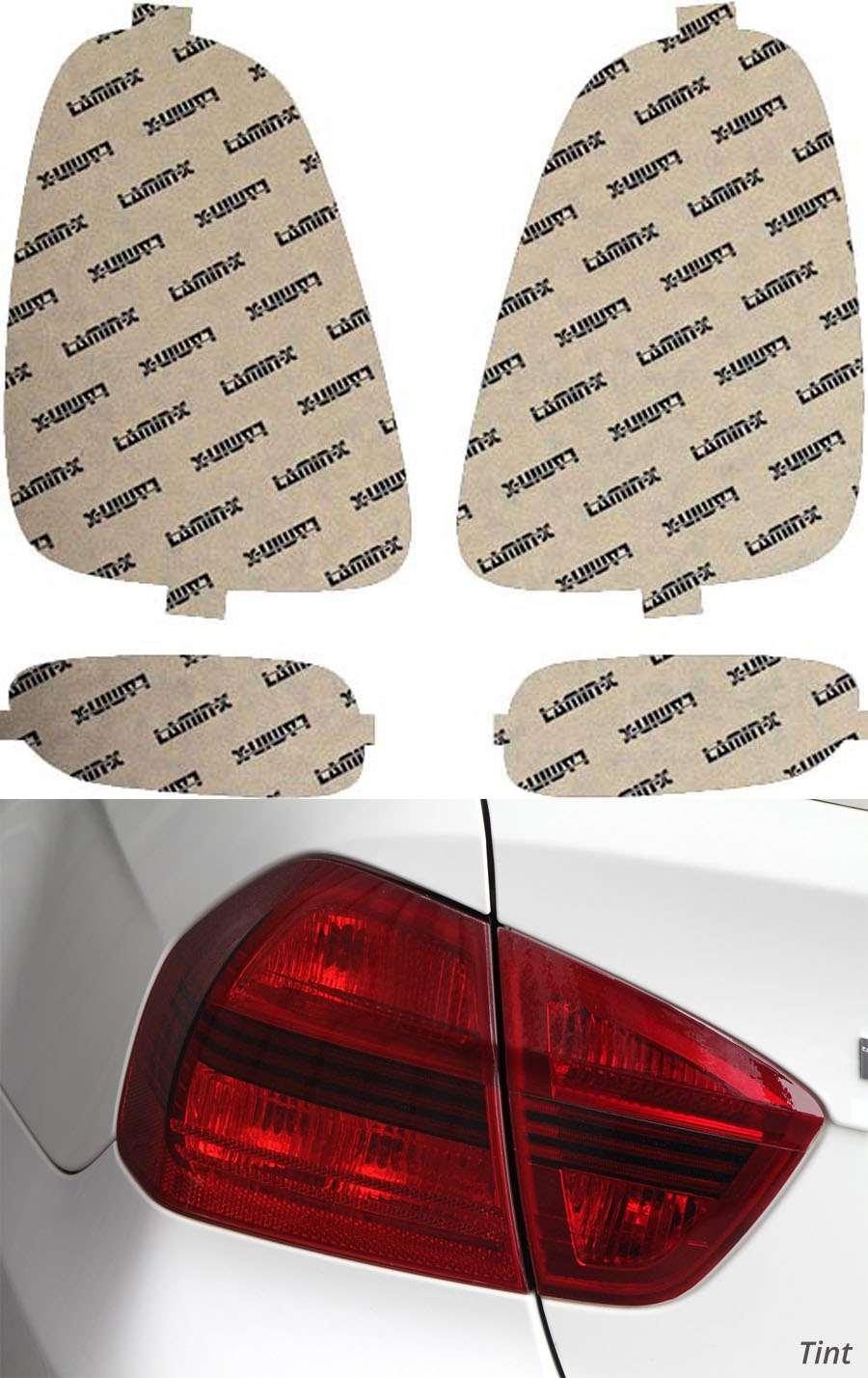 Mini Cooper 07-10 Tint Tail Light Covers Lamin-X MN207T