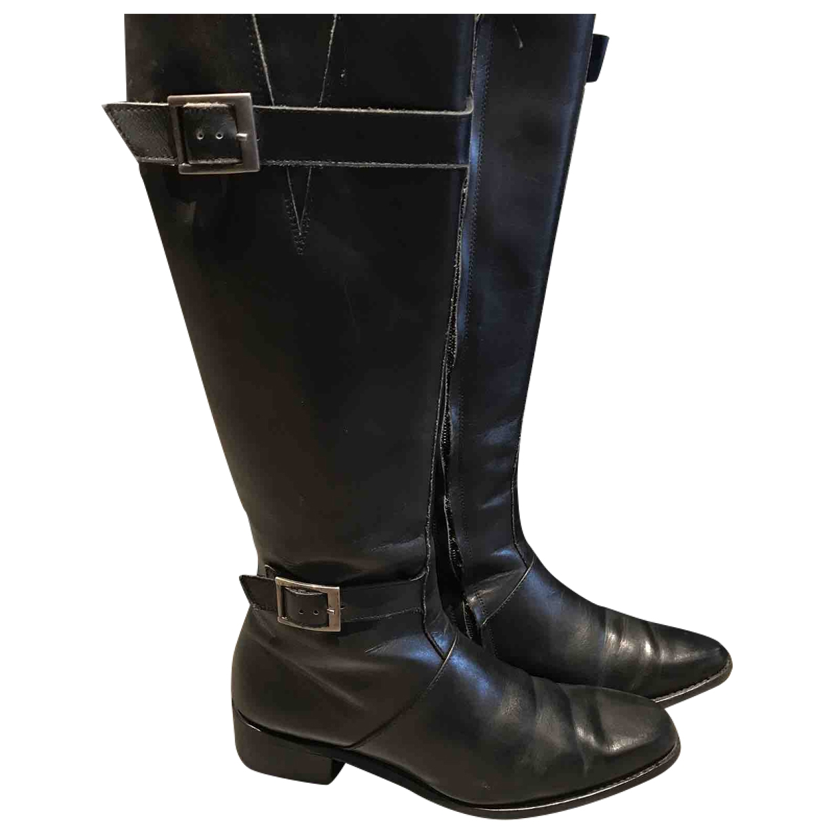 Paraboot \N Black Leather Boots for Women 4 UK