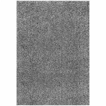 nuLoom Marleen Plush Shag Rug, One Size , Gray