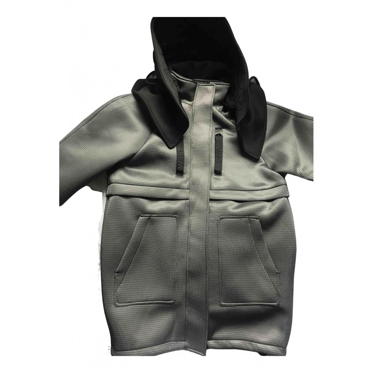 Alexander Wang Pour H&m - Manteau   pour homme en coton - gris