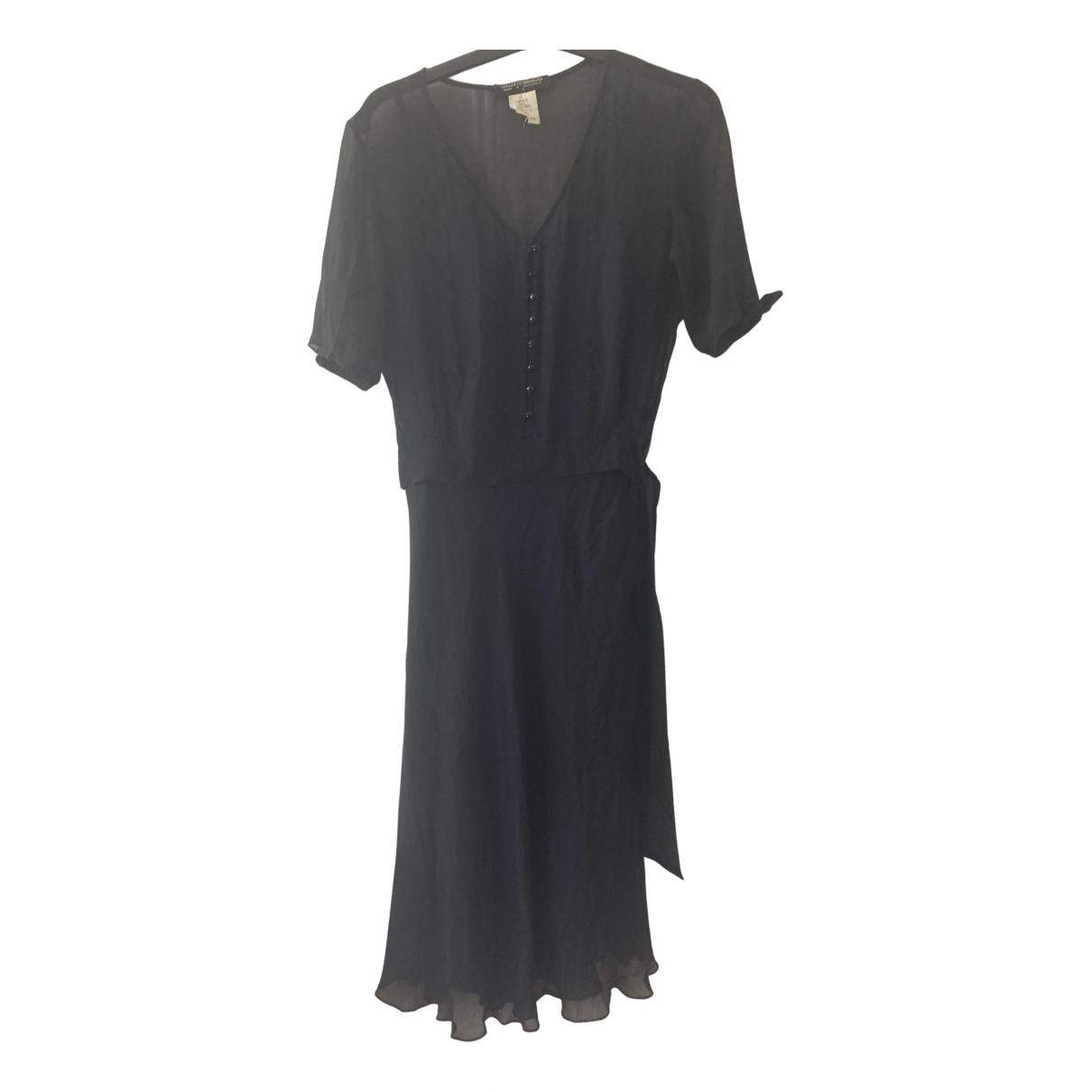 Collette Dinnigan \N Kleid in  Schwarz Seide