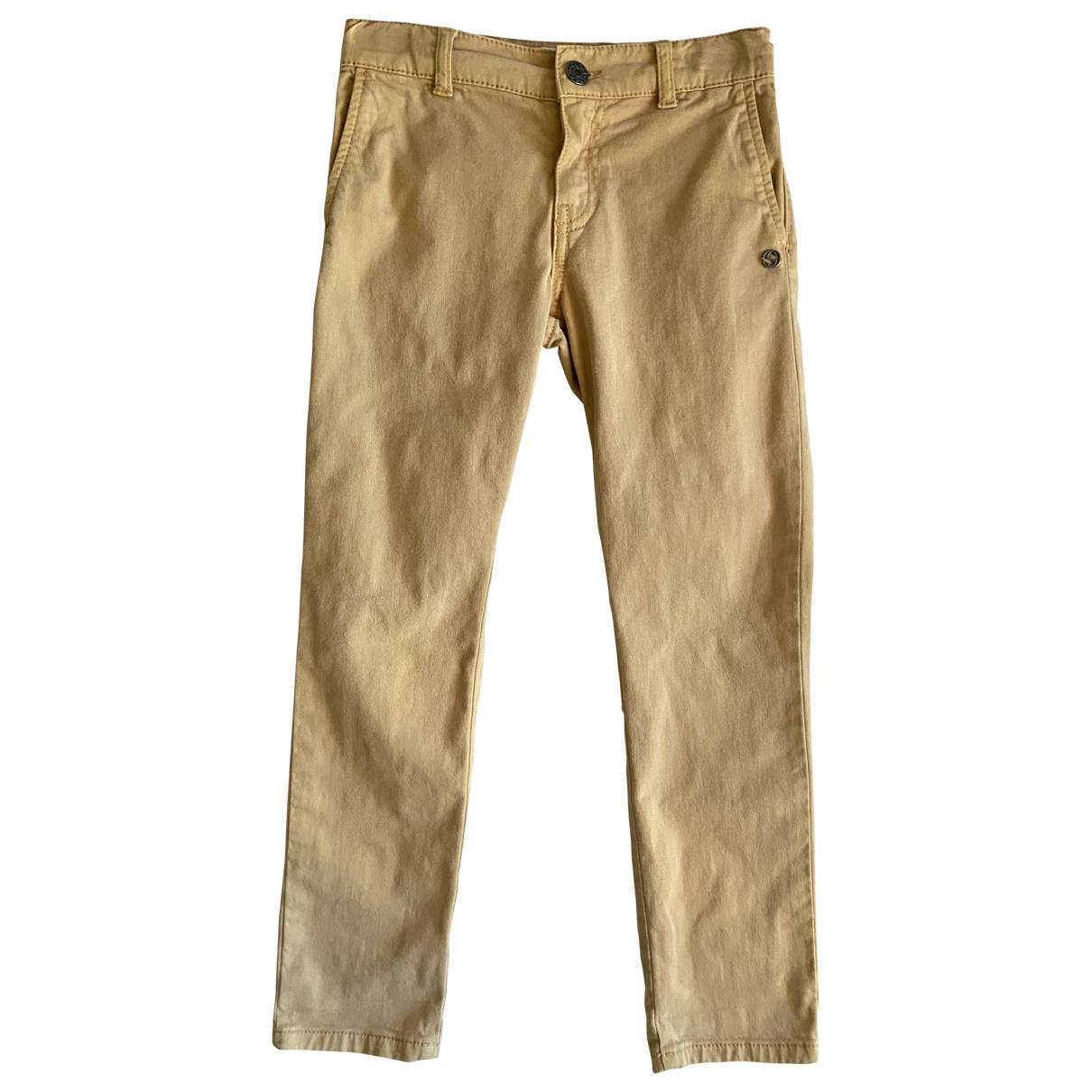 Gucci - Pantalon   pour enfant en coton - camel