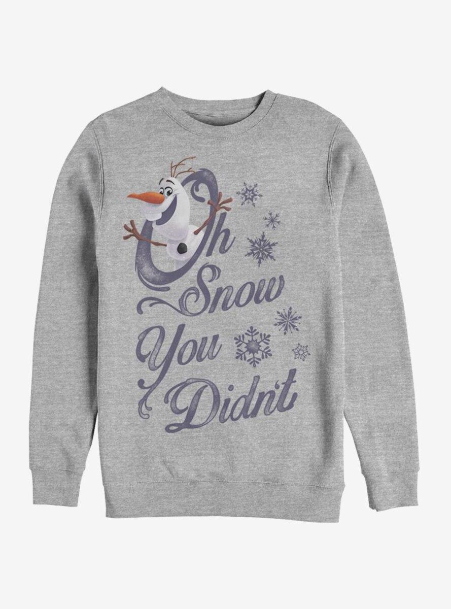 Disney Frozen Oh Snow Sweatshirt