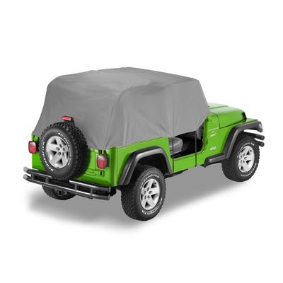 Bestop All Weather Full Door Coverage Trail Cover (Gray) - 81037-09